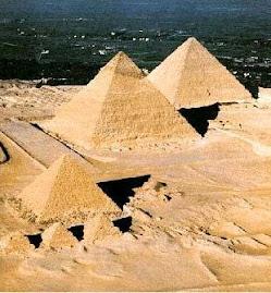 Pirâmides Kéops, Quéfren e Miquerinos