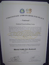 COLLEGIATE AMBASSADOR FOR PEACE