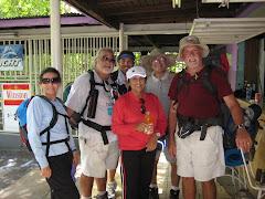 Los 5 peregrinos en Guaynabo