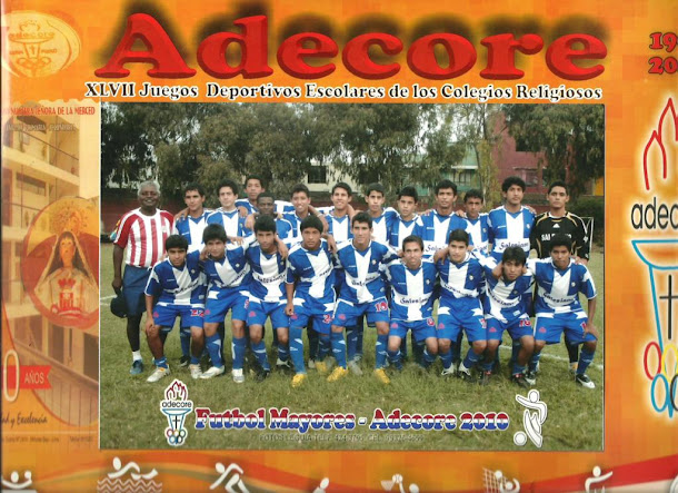EQUIPO SUB CAMPEON DE ADECORE CATEGORIA MAYORES