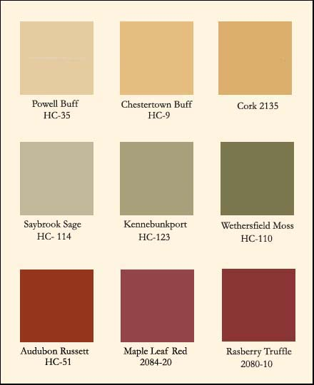 Benjamin moore historical colors bing images for Benjamin moore exterior paint color chart