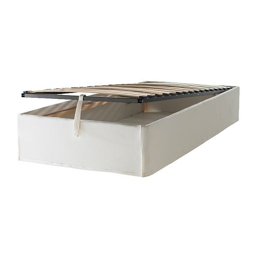 The little house in the city ikea 39 s sultan alsarp boxspring - Sommier lattes 140x200 ...