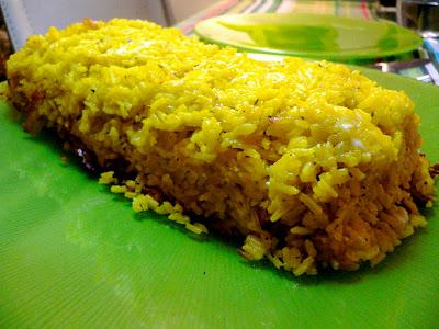 receta de pastel de arroz y queso con thermomix