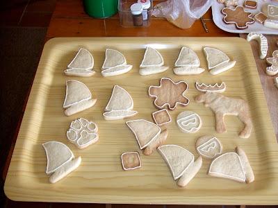 cómo delinear galletas decoradas