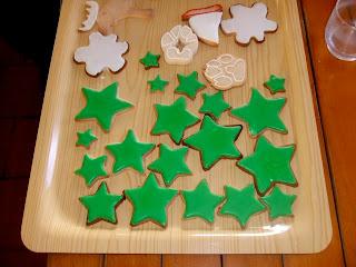 vidriado o acristalamiento de galletas