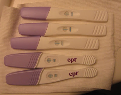 Take a Pregnancy Test. There are two kinds of pregnancy tests that can be