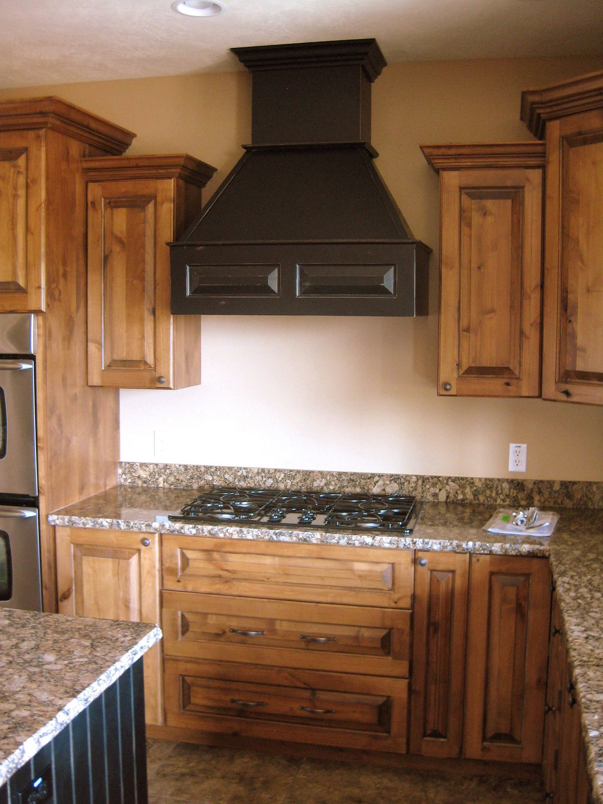 Great Room Kitchen Cabinets Alder