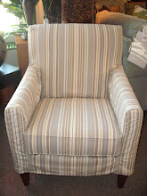Slipcovered Accent Chair