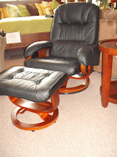 Stanley Chair and Ottoman