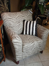 Animal Print Chair In Stock