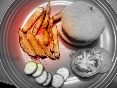 Recipe Baked Homemade French Fries ! by Dil Se..