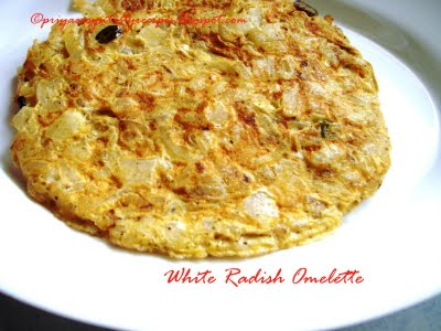 [Priya+White+radish+Omelette]