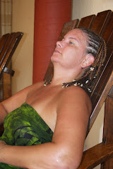 me after the Temazcal ceremony