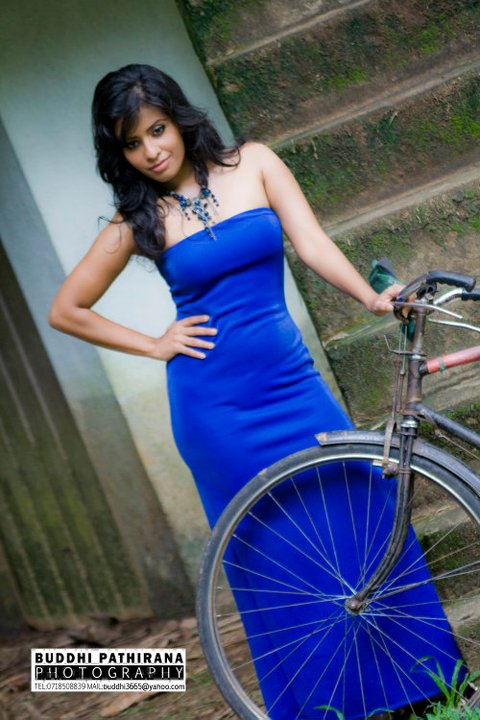 Hottest Ceylon  Model Judy Muller Photos