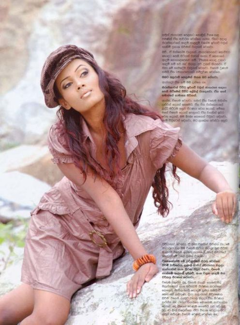 Menaka Chathurangi Peris Go magazine photos