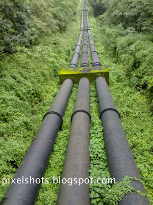 pen-stock-pipes,kerala-dam-penstock-photographs,three-penstock-pipes-of-sholayar-dam-kerala,sholayar-hydro-electric-river-project-kerala