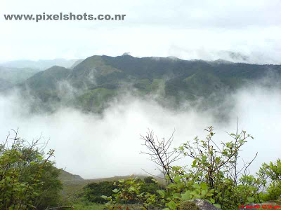mist photograph from munnar mountains kerala