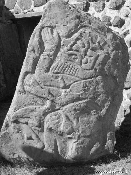NO CAUCASIANS IN ANCIENT SOUTH/CENTRAL AMERICA? HOW ABOUT A BEARDED GOD CARVED IN STONE?