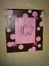 Hand-Painted Monograms