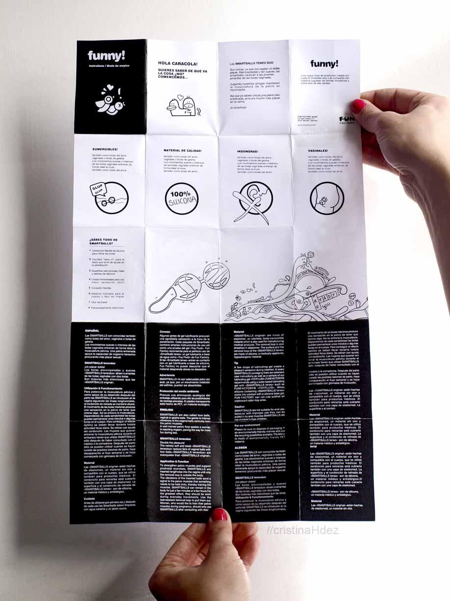 Instrucciones de uso productos funny!