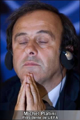 Platini dice que hay problemas extraños en Inglaterra
