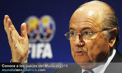 Los Jueces del Mundial 2010