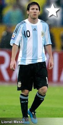 Lionel Messi mejor jugador del Mundo