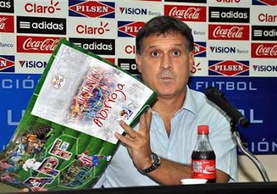Lista de convocados de Paraguay