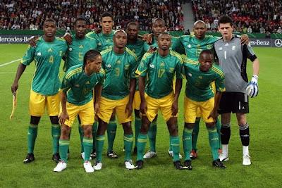 Amistoso Sudafrica vs China