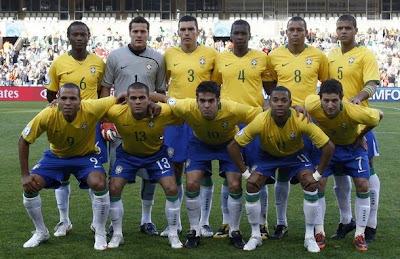 Lista de convocados de Brasil