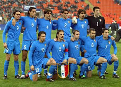Italia juega amistosos contra Mexico y Suiza