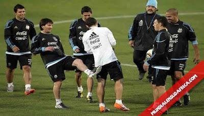 Alineacion titular Argentina vs Grecia