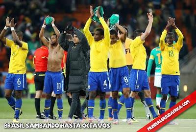Resumen Partido Brasil 3 Costa de Marfil 1