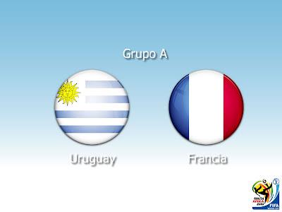Uruguay vs Francia 2010 en vivo