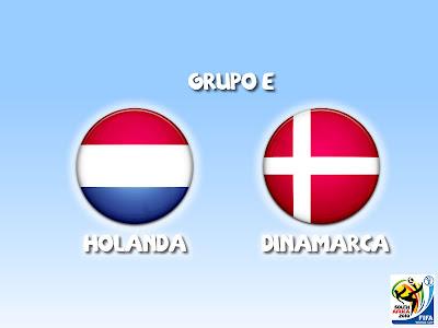 Holanda vs Dinamarca Grupo E