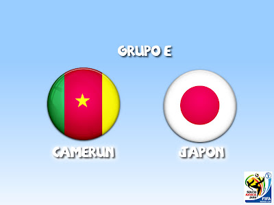 Camerun vs Japon Grupo E