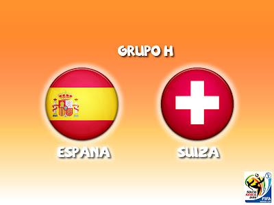 España vs Suiza en vivo Grupo H