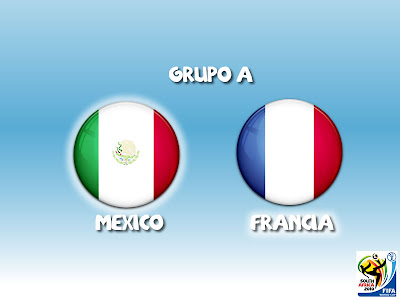 Mexico vs Francia Grupo A
