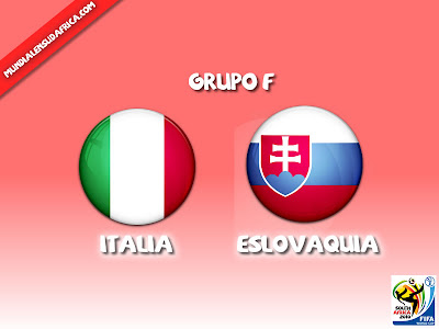Partido Italia vs Eslovaquia Grupo F