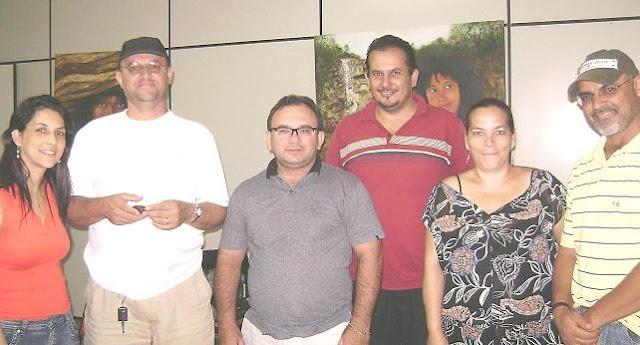 Conselheiros de Cultura de Tangará pousam para o Blog