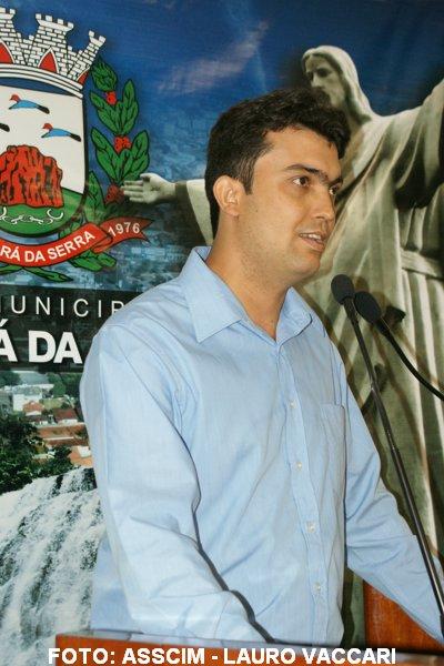 Jaconias da Silva é prefeito de Tangará da Serra