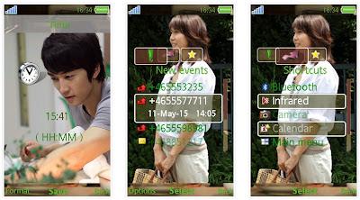 電影「新第六感生死戀」SonyEricsson手機主題for Aino﹝240x432﹞