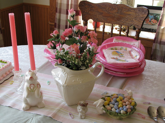 Applestone Cottage Tablescape Thursday A Baby Shower For