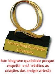 Premio qualidade e respeito