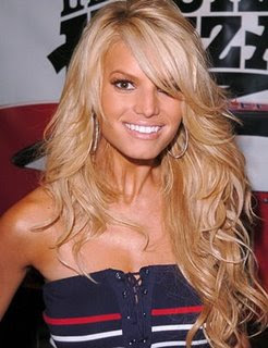 Jessica Simpson hairstyles 2011