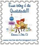 Selo Esse blog é de Qualidade!!!