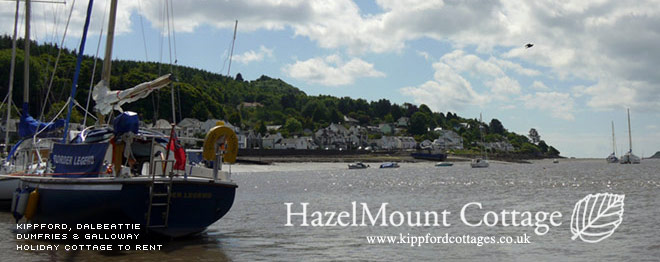 Kippford Cottages - Have a holiday on the 'Scottish Riviera'