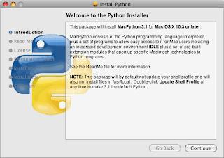 Instalador Python Mac