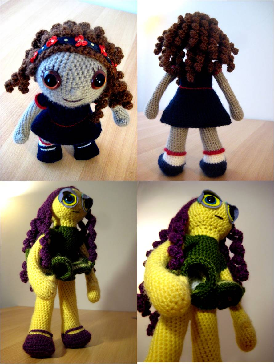 Amigurumi Hair Curly : out of the frame: April 2010