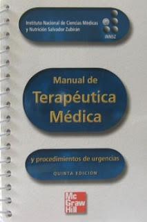 Manual de Terapeutica Medica y Procedimientos de Urgencias. 5th Ed.